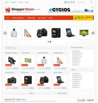 Blogger-Store