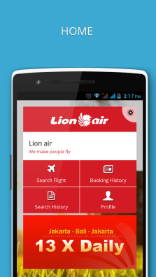 Aplikasi Gratis Android dan iPhone/iPad Traveller - Lion Air Mobile
