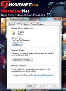 5 Langkah Mudah Cara Sharing File Akses Penuh di Windows 7