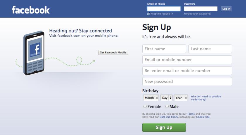 Cara Daftar / Buat Baru Akun Facebook