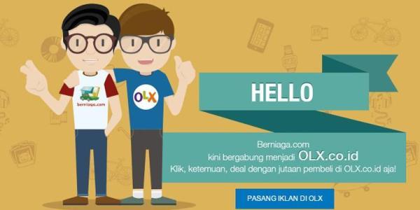 Situs Iklan Berniaga.com Resmi Tutup, Dialihkan ke OLX Indonesia