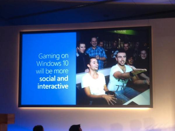 Sosial Media Gamer di XBox Windows 10