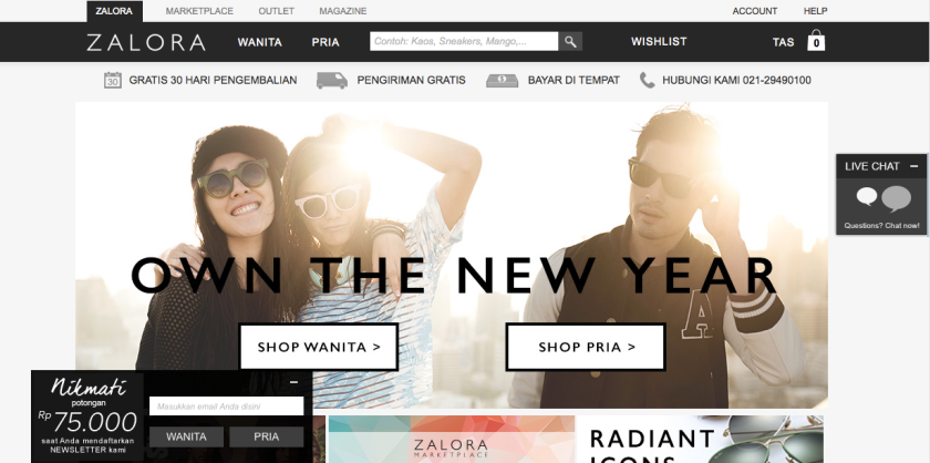 Toko Sepatu dan Fashion Online Indonesia