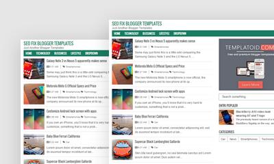Seo Fix Template Blogger Gratis AdSense